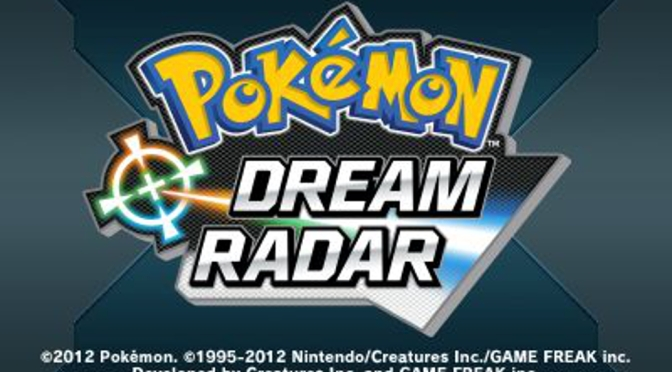 Pokemon Dream Radar [3DS eShop] – Review