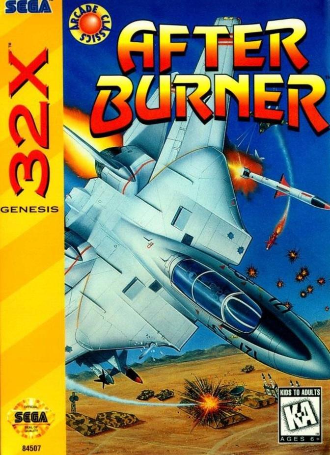 After Burner [Sega 32X] – Review