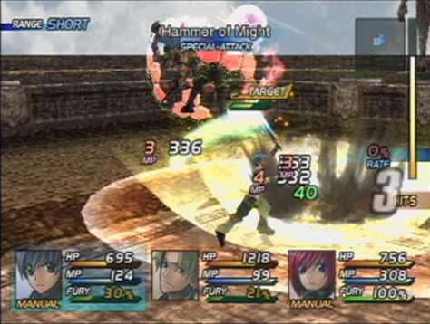 Star Ocean Till the End of Time - Special Attacks