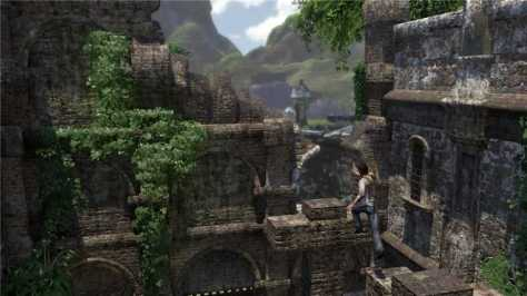 It wasn't all jungles. Sometimes it was ancient cities... inside jungles.
