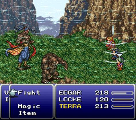 Final Fantasy VI - Combat