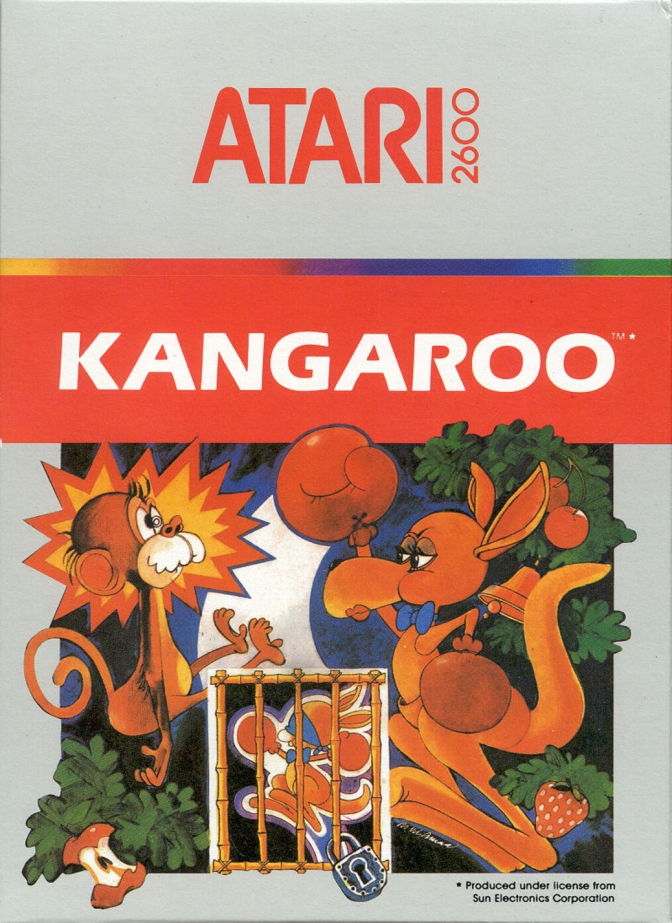 Kangaroo [Atari 2600] – Review and Let's Play