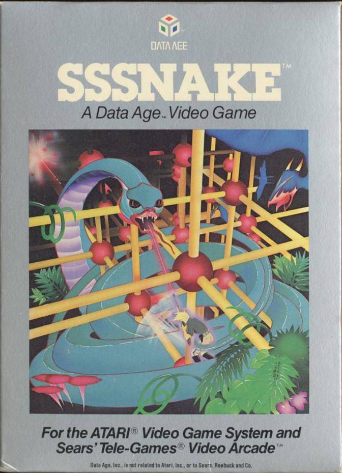Sssnake [Atari 2600] – Review and Let's Play