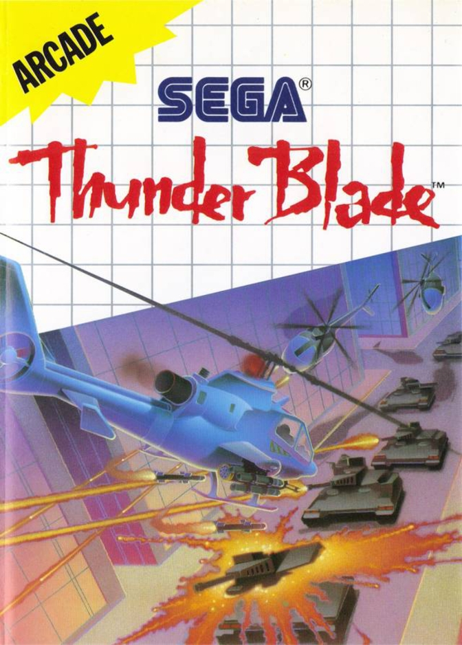 Thunder Blade [Sega Master System] – First Impressions and Let's Play