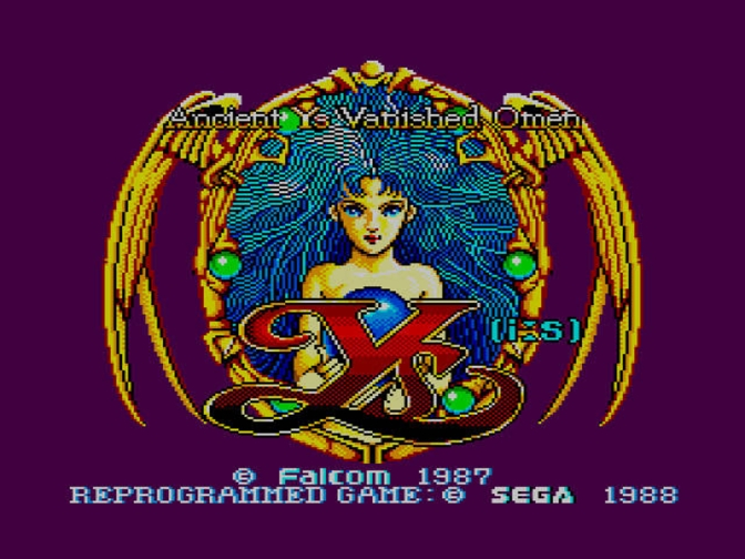 Ys: The Vanished Omens [Sega Master System] – Walkthrough