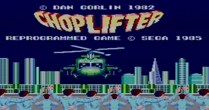 Choplifter [Sega Master System] – Review and Let's Play
