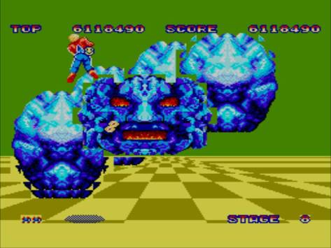 space-harrier-sega-master-system-big-blue-rock-face