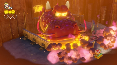 Captain Toad Treasure Tracker - Boss Fight