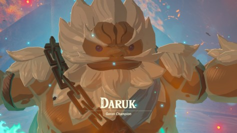 The Legend of Zelda Breath of the Wild - Daruk