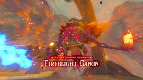 The Legend of Zelda Breath of the Wild - Fireblight Ganon