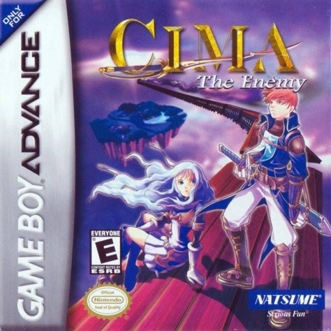 CIMA The Enemy - Game Boy Advance - North American Cover