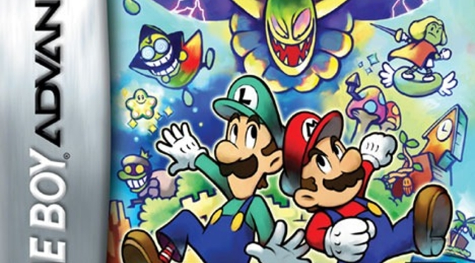 mario and luigi superstar saga art