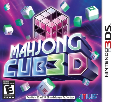 Mahjong Cub3d - Nintendo 3DS - United States Cover