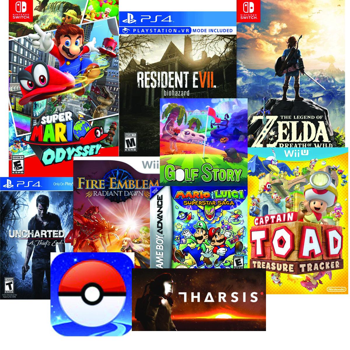 2017 Top Games