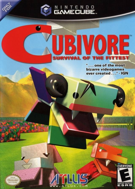 Cubivore - GameCube - North American Cover