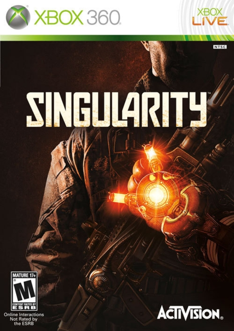 Singularity - Xbox 360 - North American Box Art