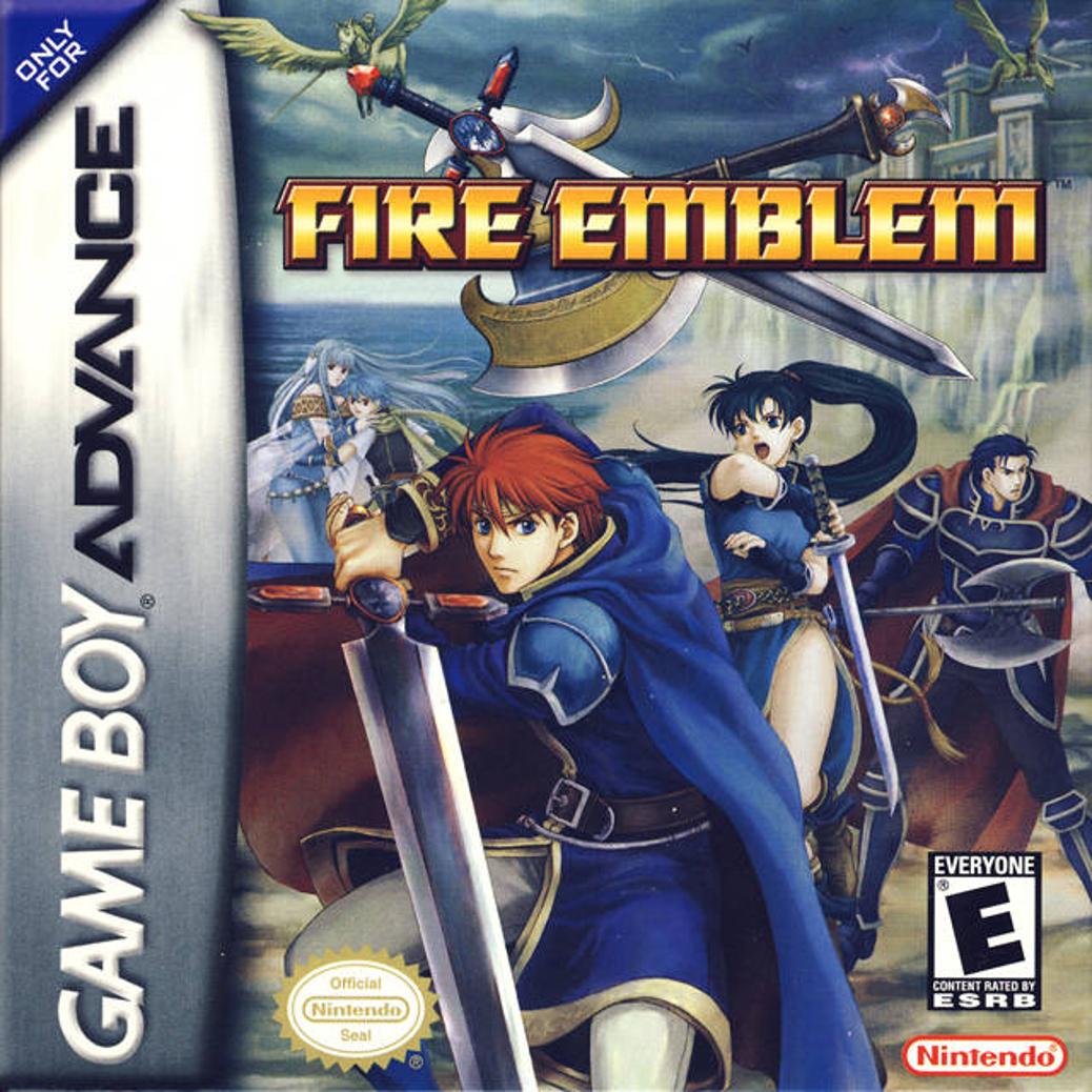 Fire Emblem - Game Boy Advance - North American Cover
