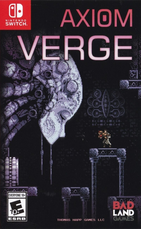 Axiom Verge - Switch - North American Box Art