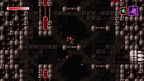 Axiom Verge - Switch - Vertical Platforming