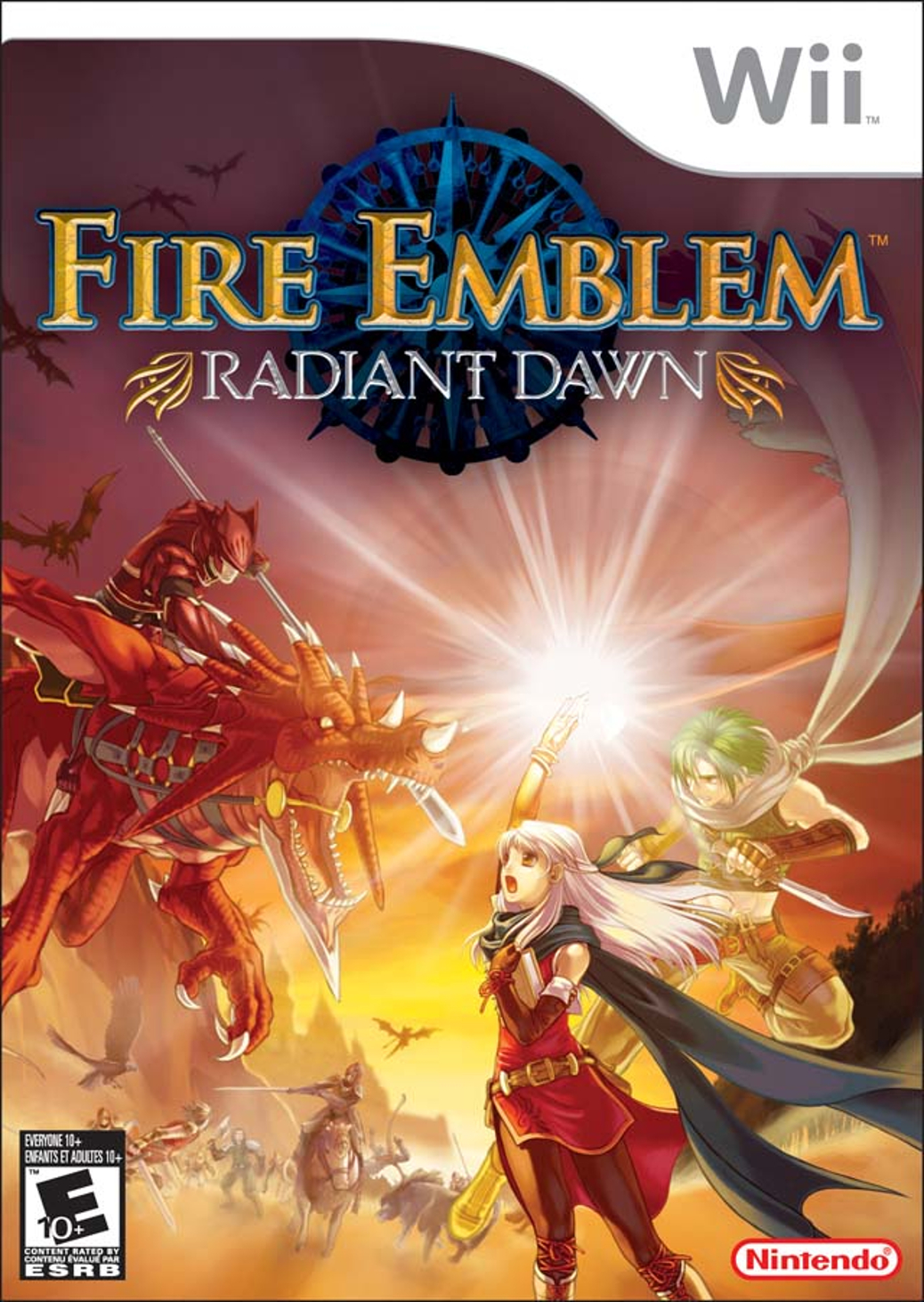 Fire Emblem Radiant Dawn - Wii - North American Box Art