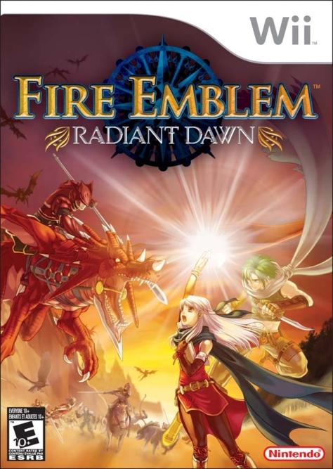 Fire Emblem Radiant Dawn - Wii - North American Box Art