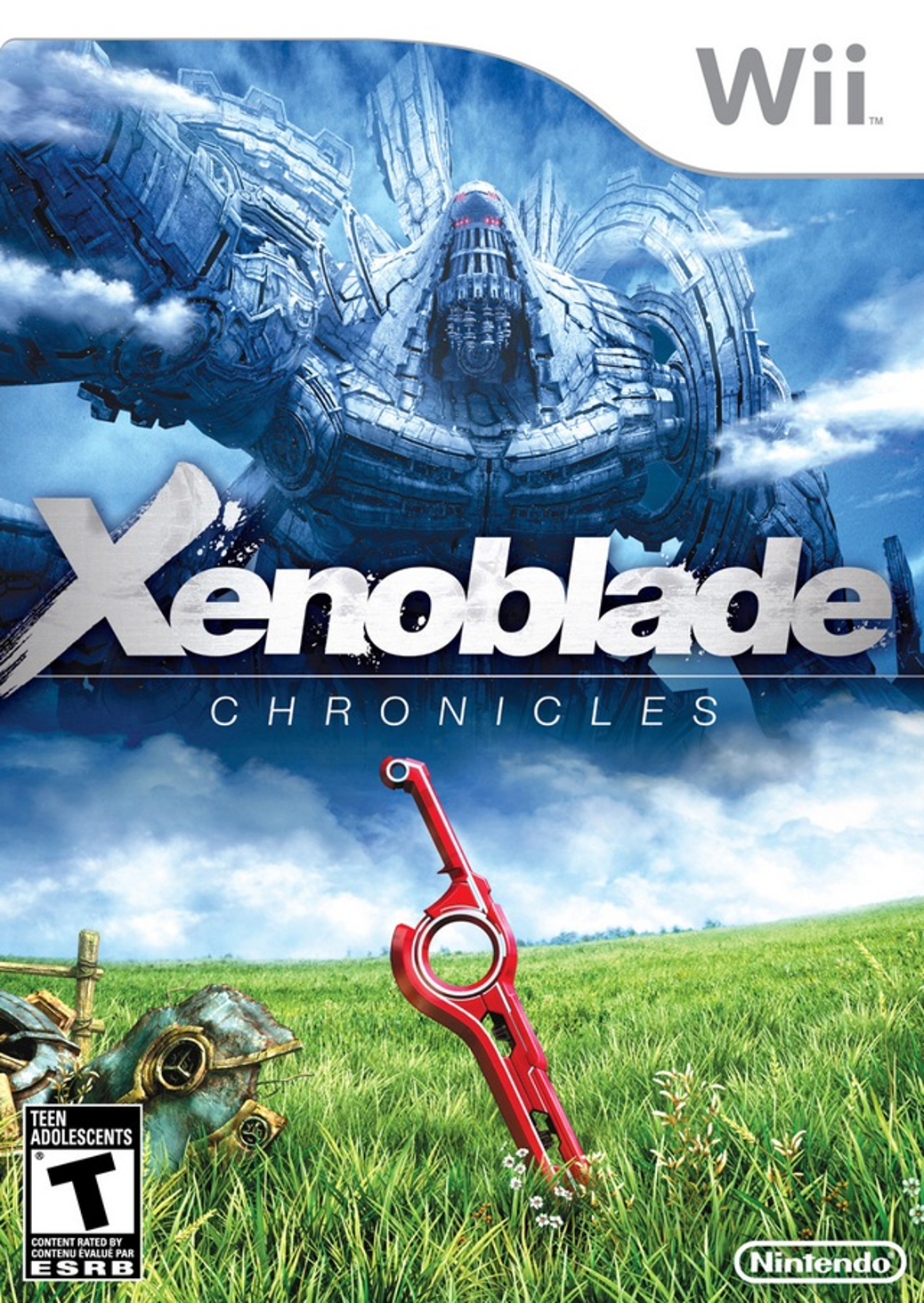 Xenoblade Chronicles - Wii - North American Box Art