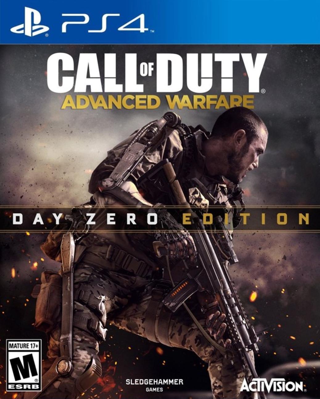 Call of Duty Advanced Warfare - PlayStation 4 - North American Box Art