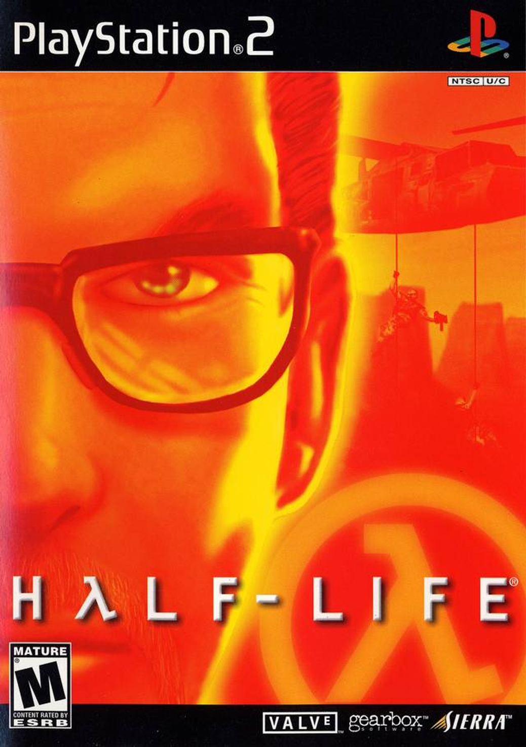 Half-Life - PlayStation 2 - North American Box Art