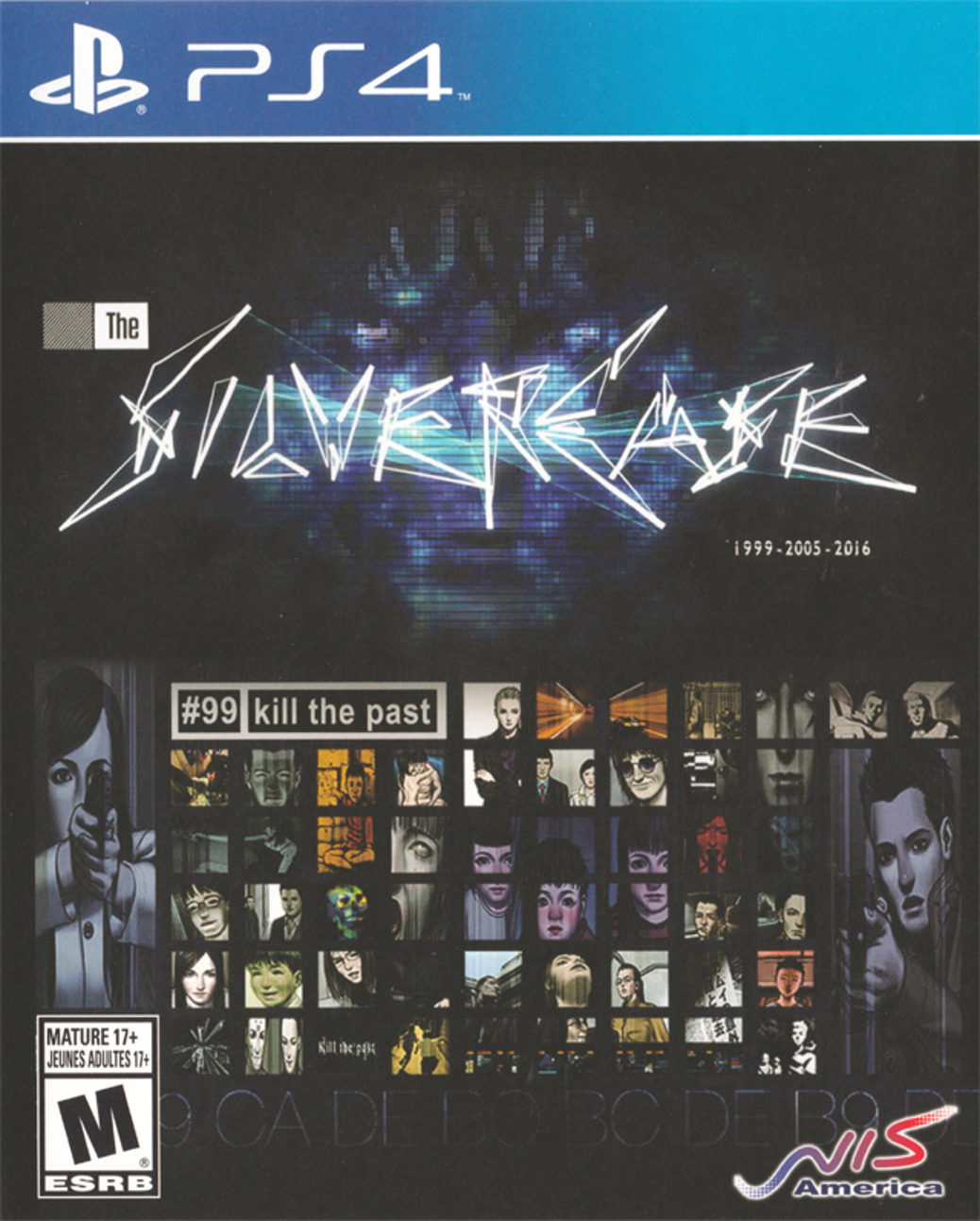 The Silver Case - PlayStation 4 - North American Box Art