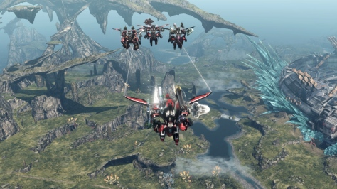 Xenoblade Chronicles X - Wii U - Skell Flight