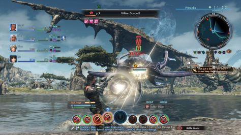 Xenoblade Chronicles X - Wii U - UI