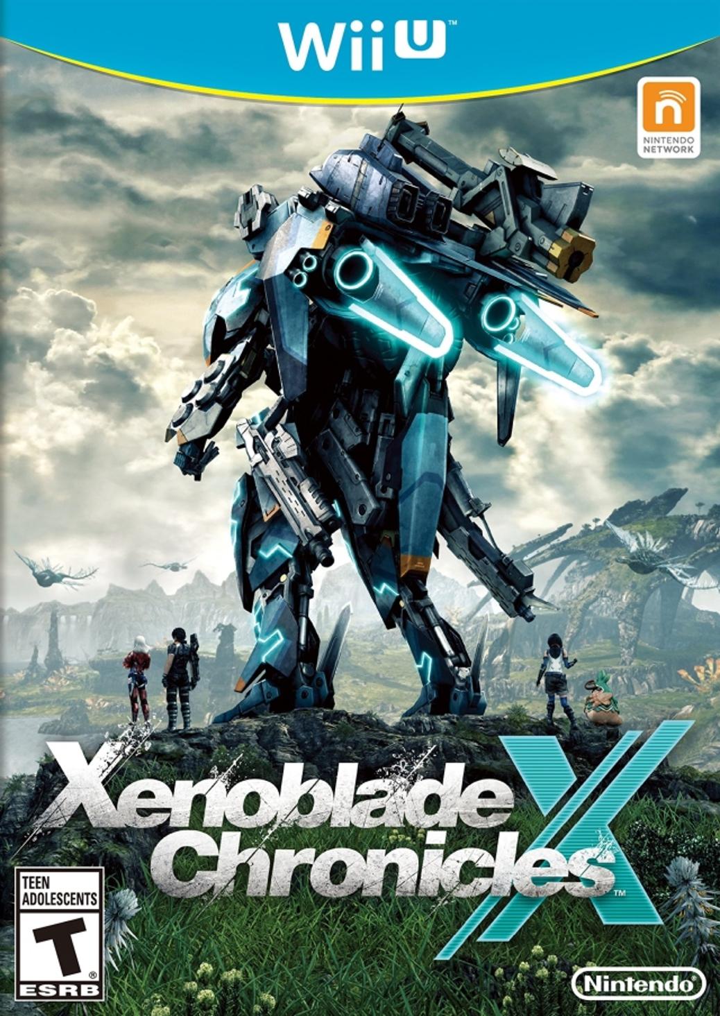 Xenoblade Chronicles X - Wii X - North American Box Art