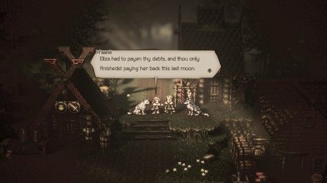 Octopath Traveler - Accent