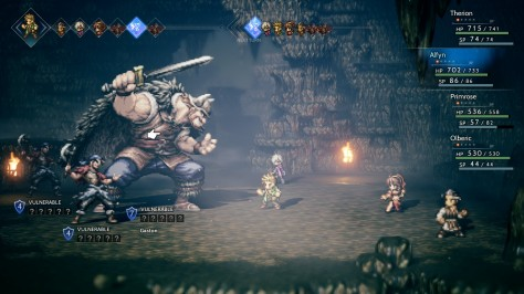 Octopath Traveler - Boss Fights