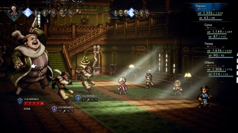 Octopath Traveler - Shield Points