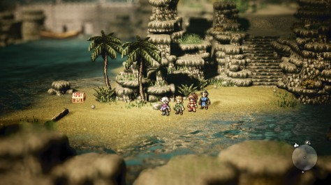 Octopath Traveler - Visuals
