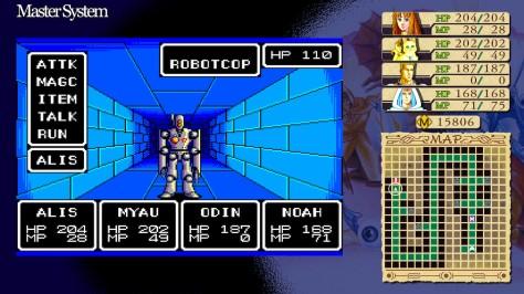 Phantasy Star - Switch - Robotcop