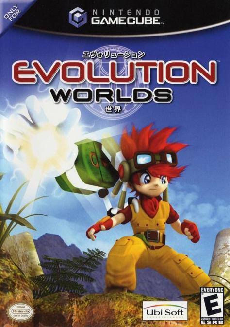 evolution worlds - gamecube - north american box art