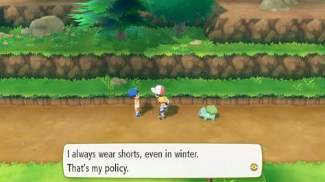 pokemon let's go, pikachu! - switch - dialogue