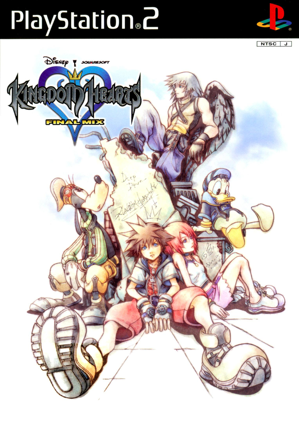 Kingdom Hearts Final Mix - PlayStation 2 - Japanese Box Art