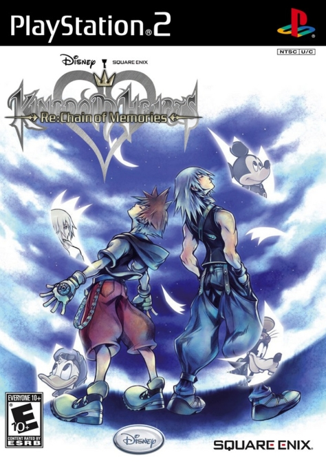 Kingdom Hearts Re Chain of Memories - PlayStation 2 - North American Box Art