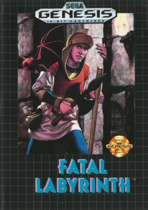 Fatal Labyrinth - Sega Genesis - North American Box Art