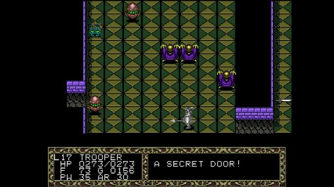 Fatal Labyrinth - Sega Genesis - Secret Door