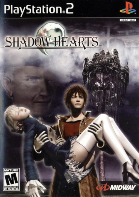 Shadow Hearts - PlayStation 2 - North American Box Art
