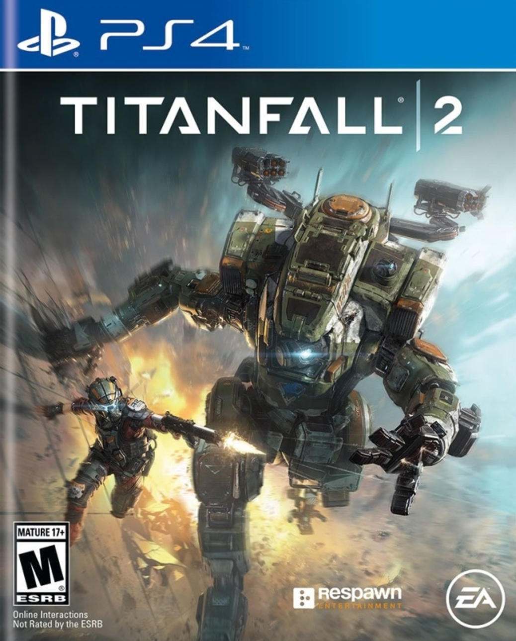 Titanfall 2 - PlayStation 4 - North American Box Art