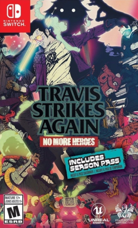 Travis Strikes Again - Nintendo Switch - North American Box Art