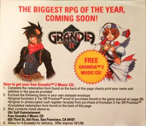 Grandia II Music CD Redemption.jpg