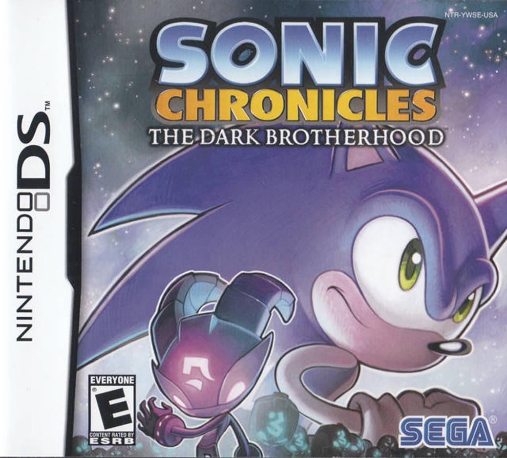 Sonic Chronicles The Dark Brotherhood - Nintendo DS - North American Box Art