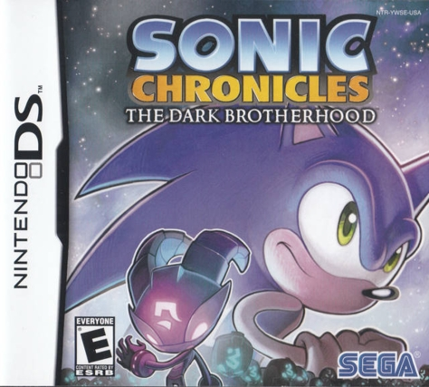 Sonic Chronicles The Dark Brotherhood - Nintendo DS - North American Box Art