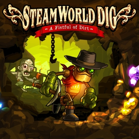 SteamWorld Dig - Nintendo 3DS - Box Art